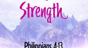 Bible Verse - Philippians 4:13