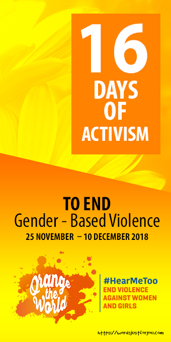16 Days of Activism Banner - FREE TO SHARE