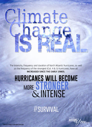climate change, hurricanes