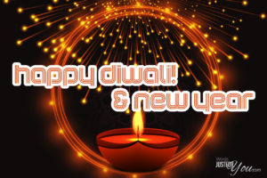 Happy Diwali and New Year Card