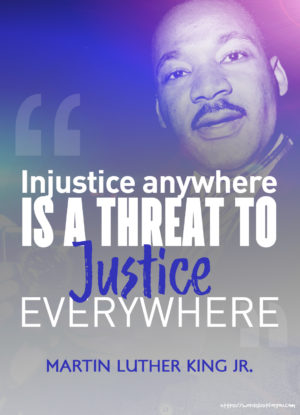 Famous Quotes by Martin Luther King Jr - Injustice