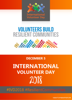 International Volunteer Day (IVD) – 5 December
