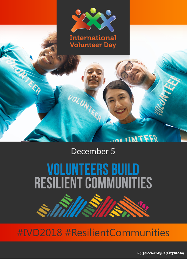 International Volunteer Day (IVD) - 5 December