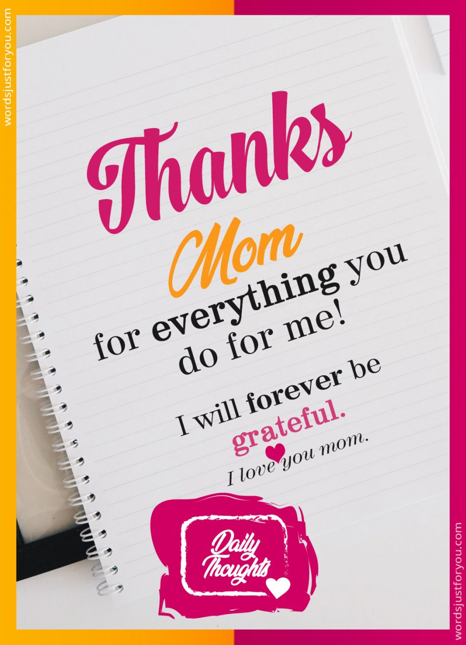 Daily Thoughts_Say Thanks to Mom