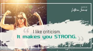 LeBron James Quote for Strong Person - Free for Sharing