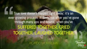 Quote on True Love by Ricardo Montalban