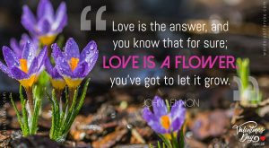 Quote on Love by John Lennon
