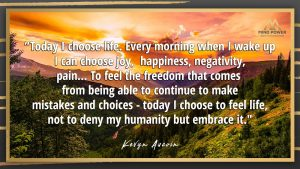 Mind Power | Today I Choose Life