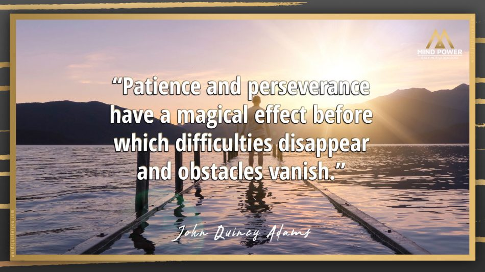 Mind Power   Daily Motivation Dose_Perseverance