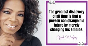 Famous Quote by Oprah Winfrey