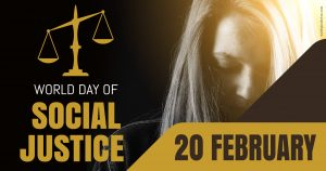 World Day of Social Justice - 20 February