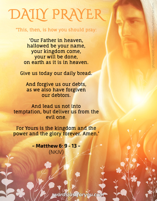 Christian Prayer - 5153 | Words Just for You! - Free