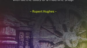 Determination - Quote by Rupert Hughes