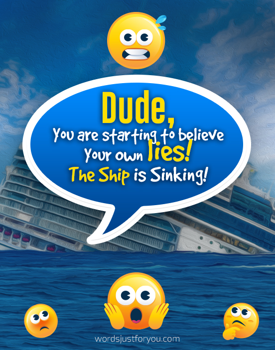 Funny Quotes - Dude, I know what you did! - 5145 3