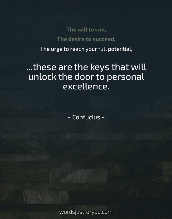 Famous Inspirational Quote by Confucius