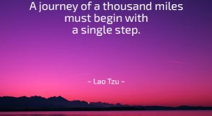 Famous Motivational Quote by Lao Tzu