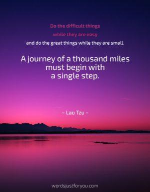 Famous Motivational Quote by Lao Tzu