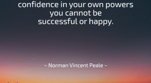 Famous Quote by Norman Vincent Peale