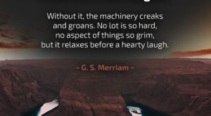 Humor - Quote by G. S. Merriam