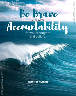 Be Brave - Quote by Jennifer Hyman