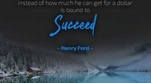 Success Quote by Henry Ford