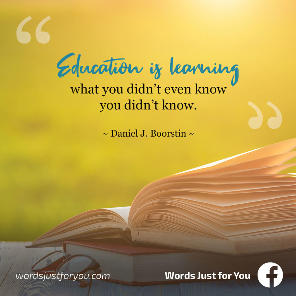 Wisdom Quote by Daniel J Boorstin