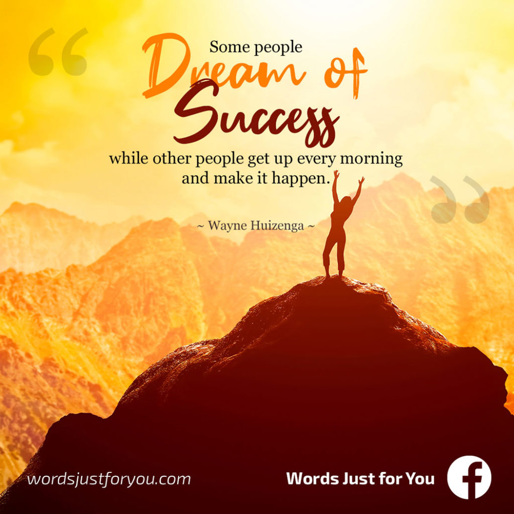 Success Quote Wayne Huizenga wordsjustforyou_04090719