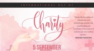 International Day of Charity - 5 September