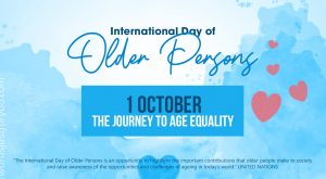 International Day of Older Persons - 1 October