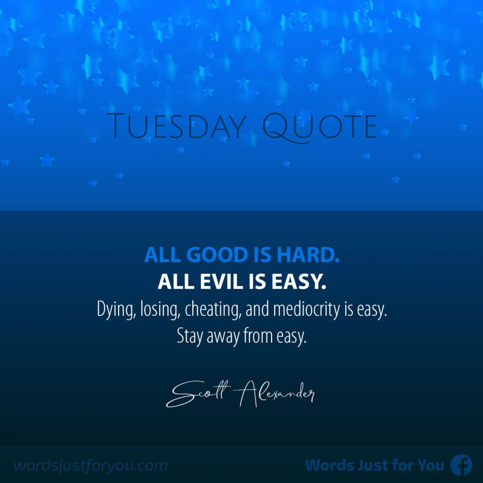 Tuesday Quote