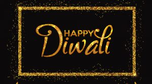 Elegant Happy Diwali Greetings Card