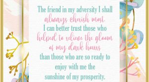 Friendship Quote by Ulysses S. Grant