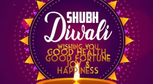 Shubh Diwali Greetings Card