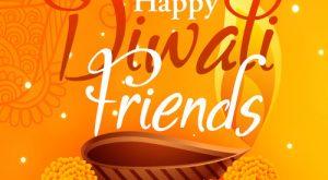 Happy Diwali Friends Card