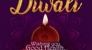 Happy Diwali Wishes Card