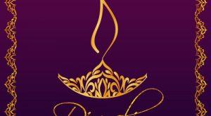 Happy Diwali Greetings Card