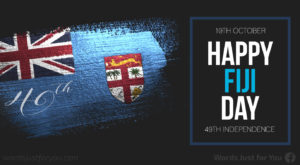 Happy Fiji Day - 10th October