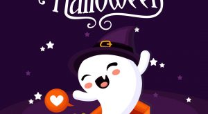 Cute Happy Halloween Card