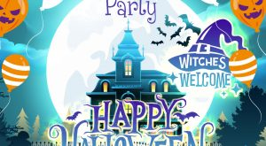 Happy Halloween Party Card - 31 October