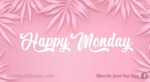Happy Monday Image