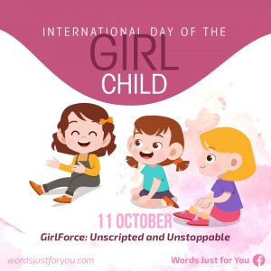 International Day of the Girl Child - 11 October