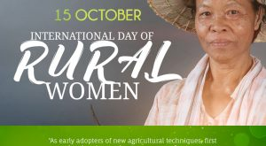 International Day of Rural Women 15 October