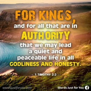 Bible Verse Images - 1 Timothy 2:2