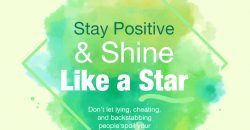 Quotes and Sayings - Stay Positive & Shine Like A Star