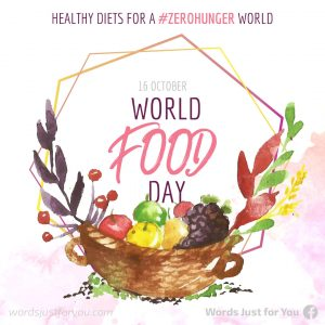 World Food Day - 16 October