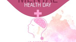 Creative World Mental Health Day Banner