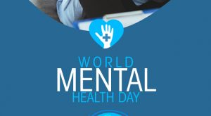 Creative World Mental Health Day Poster